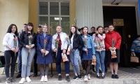 """5 октября 2020 г. в СП-1 отметили """"День учителя""""."""