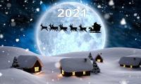 30 декабря 2020 г. студенты и преподаватели поздравили всех с Наступающим 2021 годом!