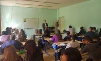 6 сентября 2021 г. в СП-2 с студентами беседовали сотрудники Московского международного университета.