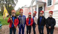 23 сентября 2021 г. студенты Чеховского техникума приняли участие в Военно-исторической игре «Летучие отряды князя Н.Д. Кудашева в Лопасне».