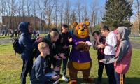 8 октября 2021 г. студенты Чеховского техникума на стадионе «Гидросталь» приняли участие в спортивном празднике «День Медведей».