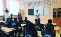 15 октября 2021 г. сотрудники Межпоселенческого Молодежного Центра «Молодость» провели занятие в СП-4