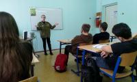 25 февраля 2021 г. состоялась встреча студентов СП-2 с представителем организации «Российские Студенческие Отряды».