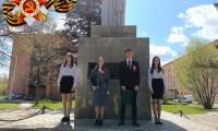 7 мая 2021 г. обучающиеся и преподаватели СП-4 приняли участие в торжественном мероприятии, посвященному Победе в Великой Отечественной войне.