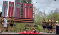 9 мая 2021 г. обучающиеся СП-1 участвовали в церемонии возложения цветов, венков и корзин к Мемориалу.