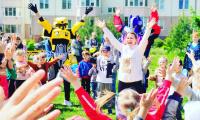 1 июня 2021 г. обучающиеся СП-4 провели ежегодный областной благотворительный фестиваль «Подари надежду».