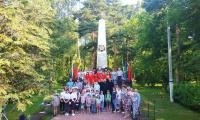 22 июня 2021 г. прошёл митинг, организованный ДК «Меридиан», посвященный Дню памяти и скорби.
