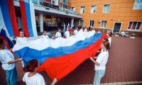 22 августа 2021 года у КТЦ «Дружба» отметили день главного символа страны – флага Российской Федерации.